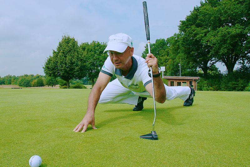 tj.PHOENIX mit PLANK-Performance bei den Deutschen Meisterschaften der Golfer mit Behinderung '14