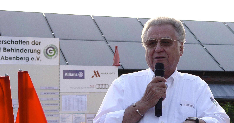 Elmar Vedovelli - leitete 16 Jahre für den DGV die Dt. Meisterschaften.