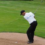 Deutsche Meisterschaften der Golfer mit Behinderung 2016, Golfclub Abenberg_Thomas J. Jandke_Bunkerschlag-01